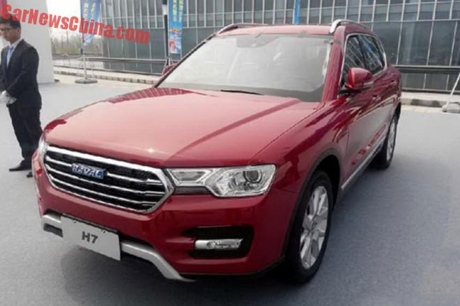 This is the new Haval H7 for the Chinese car market