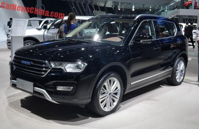Haval H7 & H7L launched on the Shanghai Auto Show