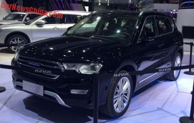 First Live Shots at the Haval H7 & Haval H7 L for the Shanghai Auto Show