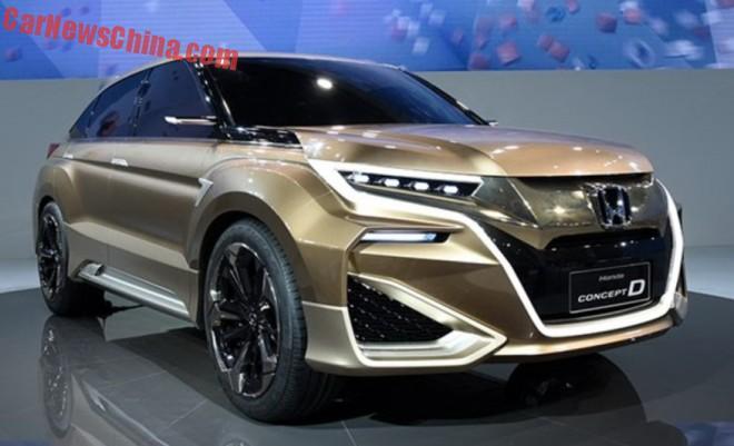 Honda Concept D hits the Shanghai Auto Show