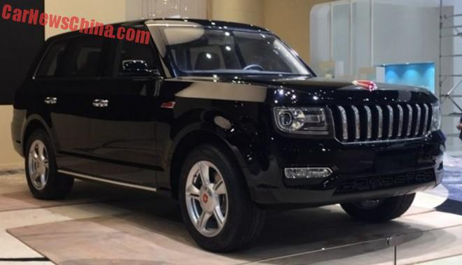 The new Hongqi P504 SUV is Ready for the Shanghai Auto Show
