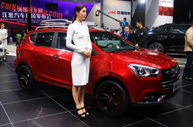 JAC Refine S2 launched on the Shanghai Auto Show