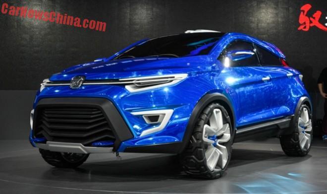 Jiangling Yusheng S330 concept debuts on the Shanghai Auto Show