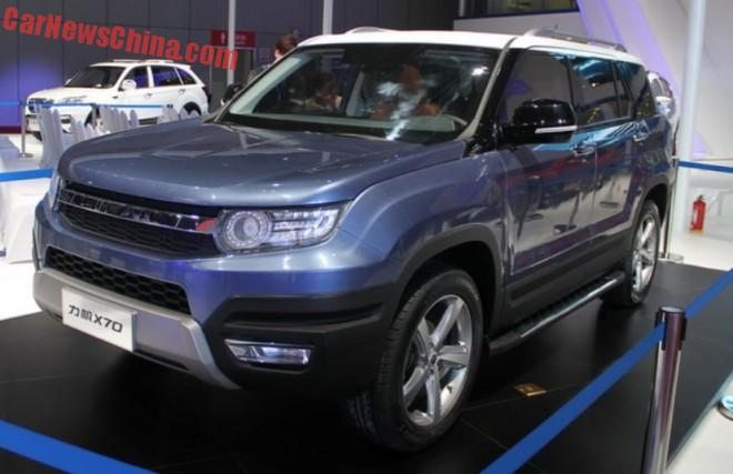 Lifan X70 concept launched on the Shanghai Auto Show