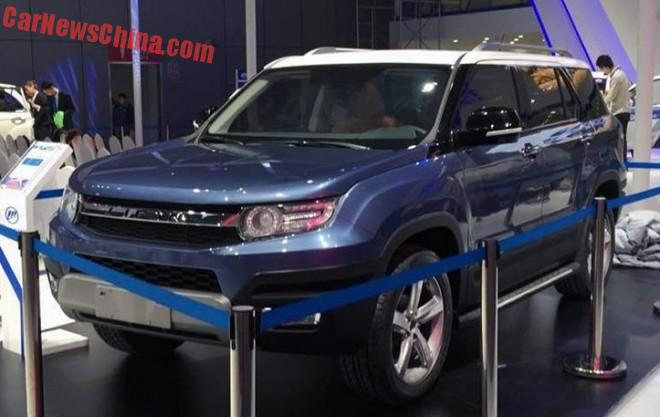 Lifan X70 SUV concept gets Naked for the Shanghai Auto Show
