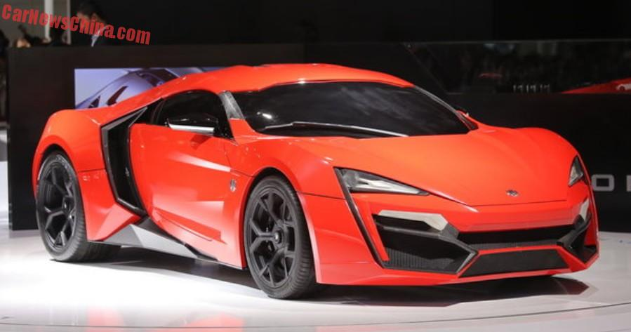 Lykan Hypersport W Motors pearl red Limited 118
