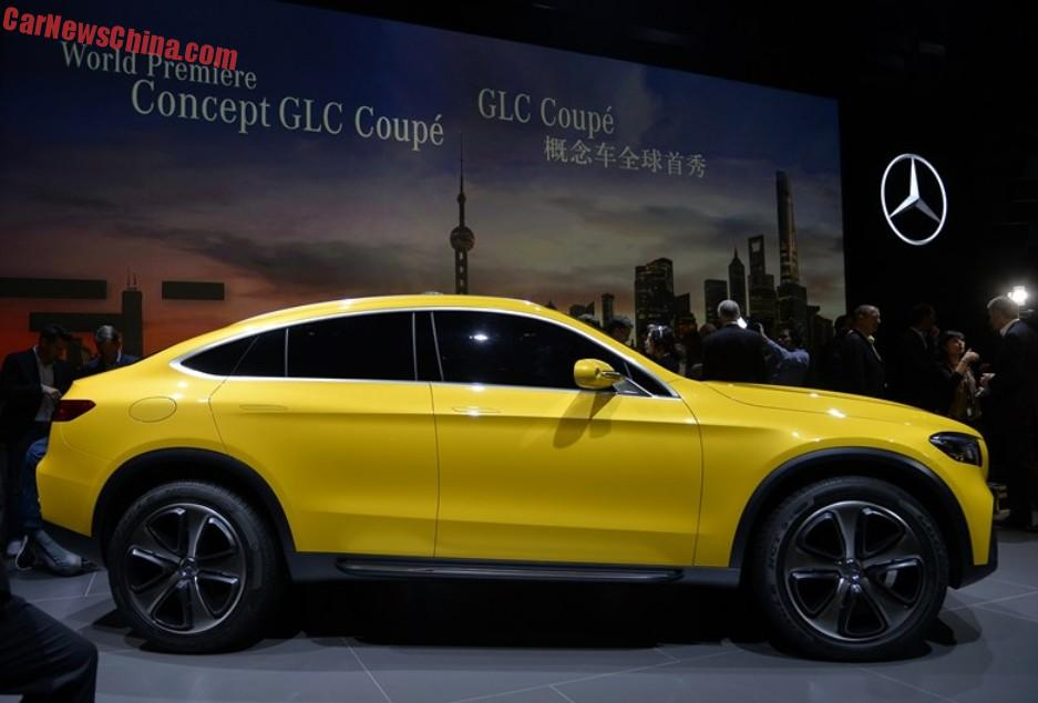 mercedes benz concept glc coupe debuts in china. Black Bedroom Furniture Sets. Home Design Ideas