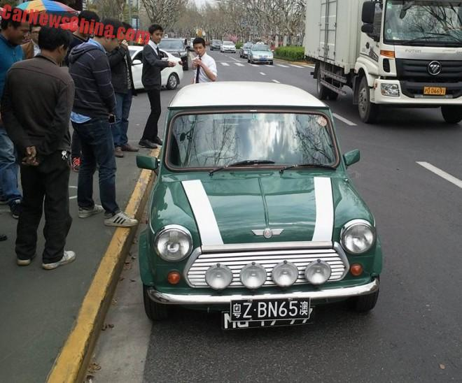 Spotted in China: Mini Cooper Mk VII Final Edition