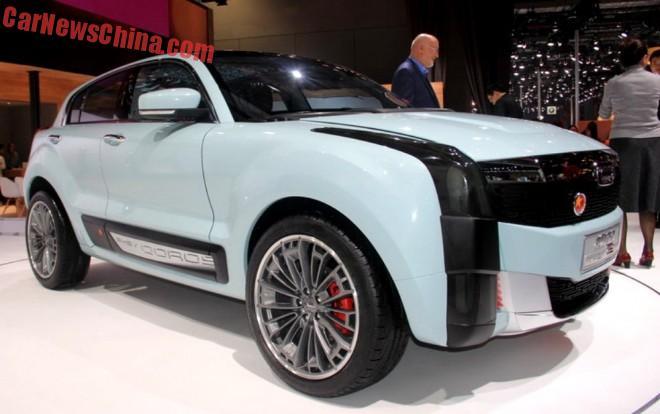 Qoros 2 SUV PHEV Concept hits the Shanghai Auto Show