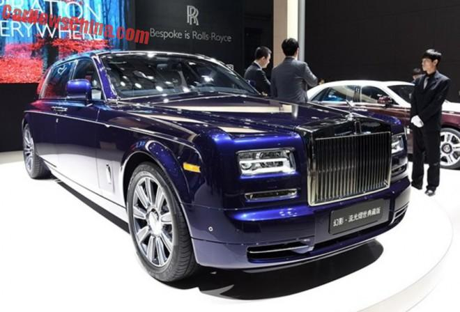 Rolls-Royce Phantom Limelight launched on the Shanghai Auto Show