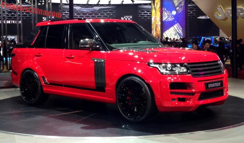 Range Rover Truck >> Startech Range Rover Pickup Truck Hits The Shanghai Auto