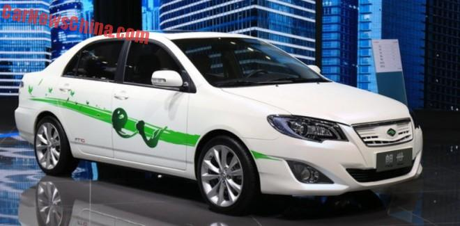 FAW-Toyota Ranz E50 EV launched on the Shanghai Auto Show