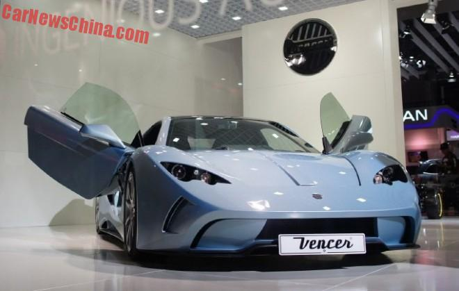 Vencer Sarthe debuts at the Shanghai Auto Show in China