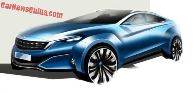 Venucia to launch four-door coupe concept on the Shanghai Auto Show
