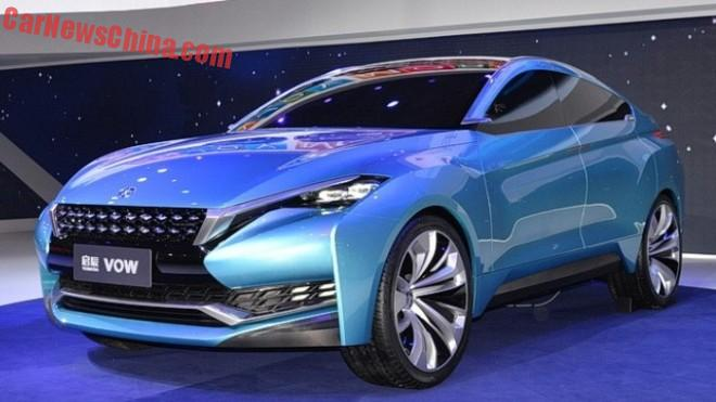 Venucia VOW concept unveiled on the Shanghai Auto Show