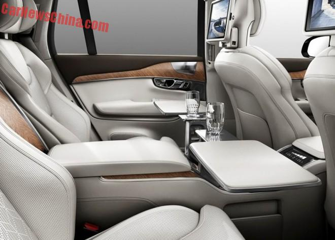 Volvo XC90 Excellence is an ultra luxurious SUV for the Shanghai Auto Show