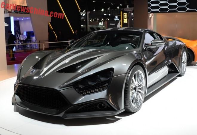 Zenvo ST1 supercar hits the Shanghai Auto Show in China