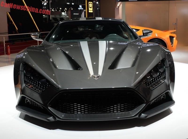 Zenvo ST1 supercar hits the Shanghai Auto Show in China ...