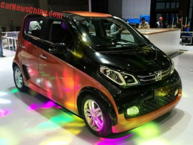 First Photos of the Zotye E200 EV for the Shanghai Auto Show