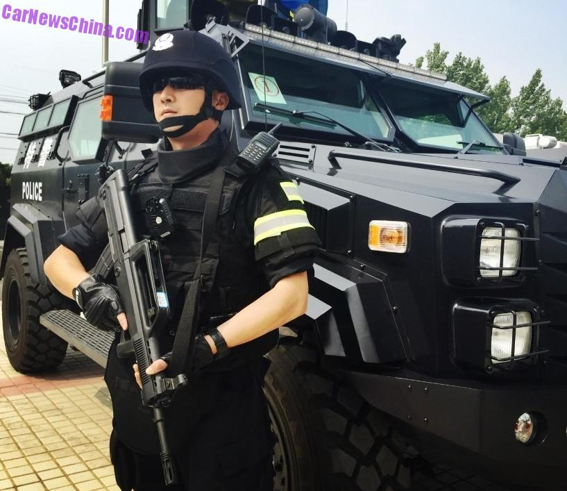 China Police: Meet The Sabertooth, A New Badass APC For The Chinese
