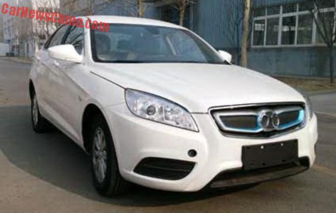Spy Shots: Beijing Auto Senova EV300 for the Chinese car market