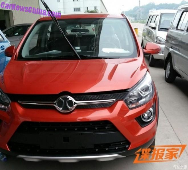 Spy Shots: Beijing Auto Senova X25 is Naked in China