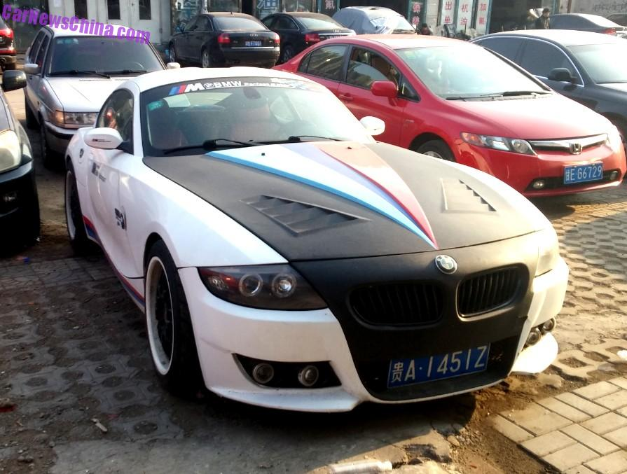 Bmw Z4 Is Matte Black Amp White In China Carnewschina Com