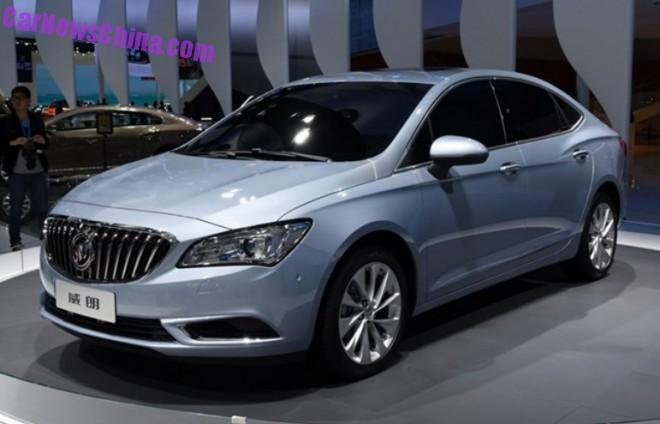 Buick Verano will hit the Chinese car market in Q3
