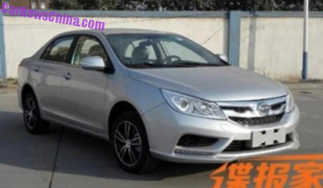 BYD Su Rui gets a 1.2 Turbo in China