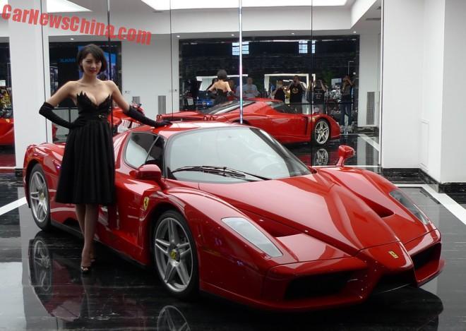FB-Show 2015 in Beijing: Ferrari & Lamborghini supercars