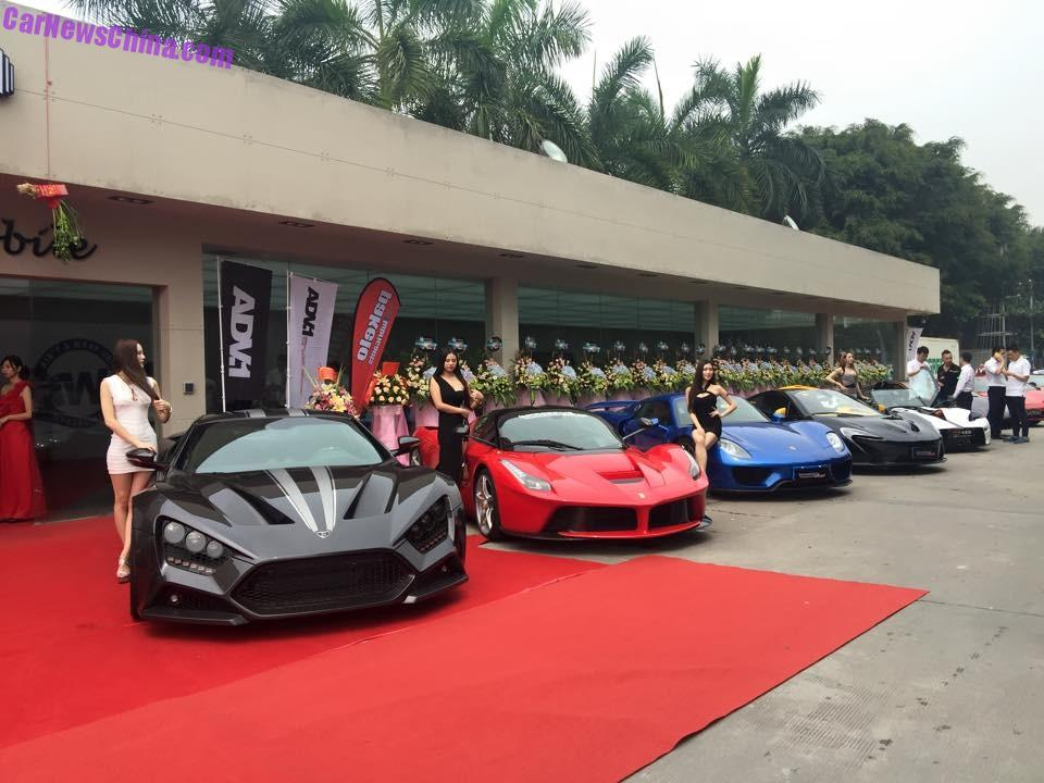 Impressive Wrap Opens Shop In China With A Zillion Supercars Carnewschina Com