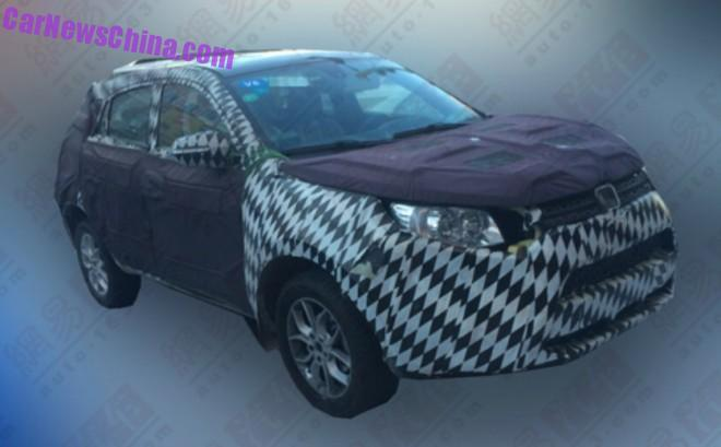 Spy Shots: Jiangling Yusheng S330 testing in China