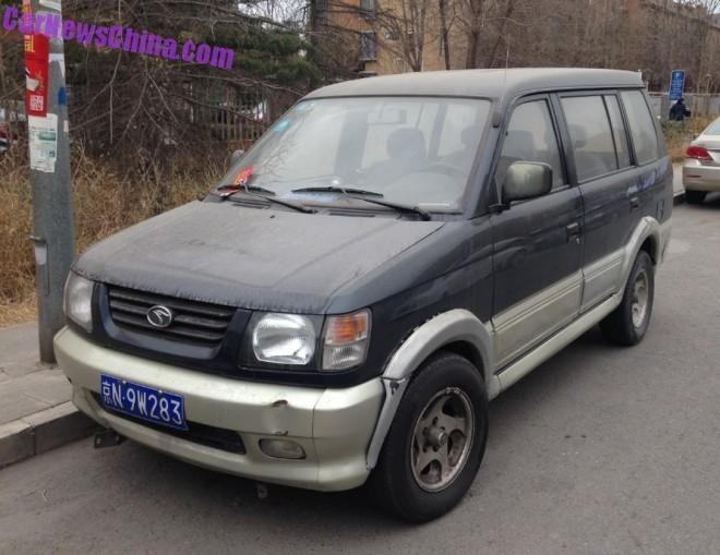 Spotted in China: SouEast Freeca DN6440-III MPV