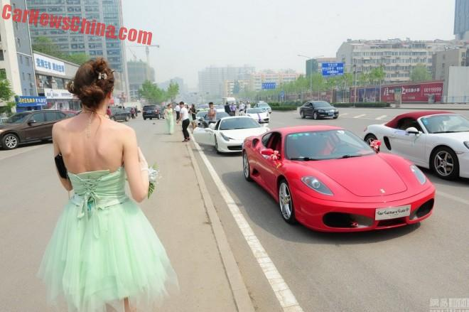 Supercar Wedding in Jinan, China