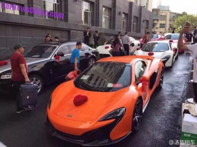 Supercar Wedding in Shanghai, China