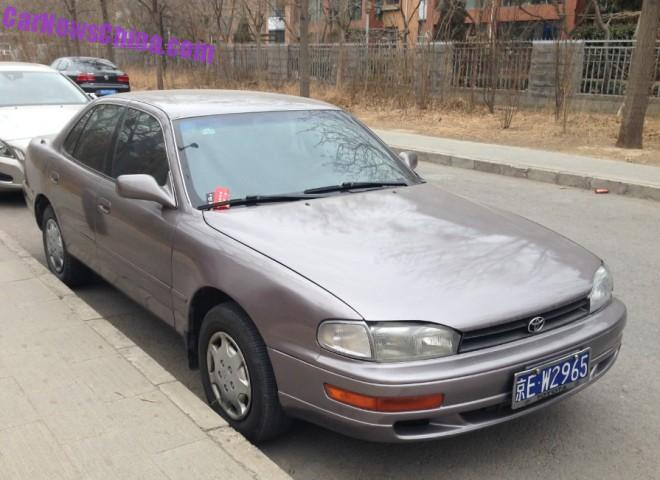 Spotted in China: XV10 Toyota Camry LE sedan