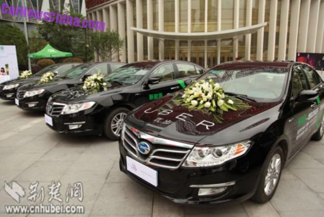 Uber signs deal to operate green-energy taxi's in China