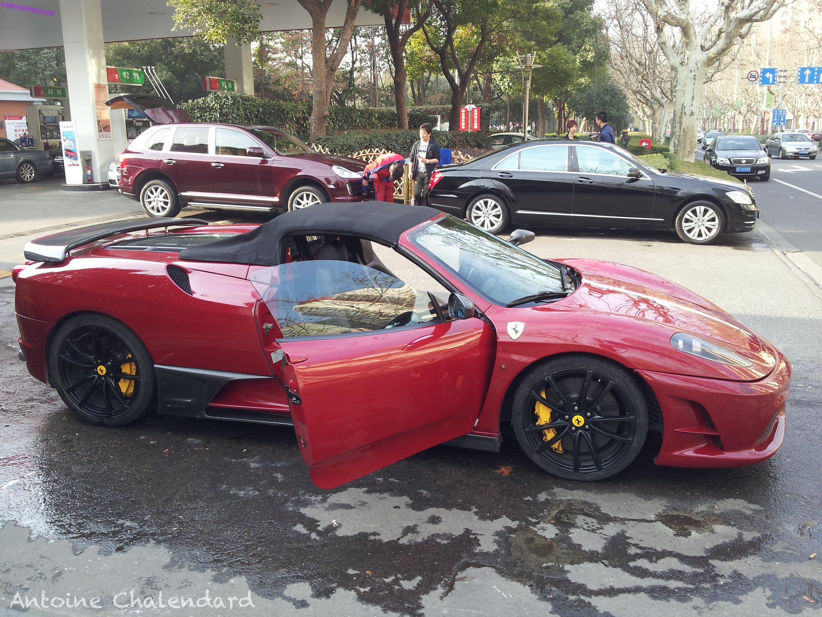 Marvelous Spotted In China: Ferrari F430 Scuderia Spider 16M