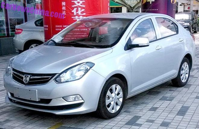 Spy Shots: Baojun 330 is Naked from all Sides in China