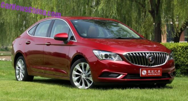 This is the new 2016 Buick Verano for China