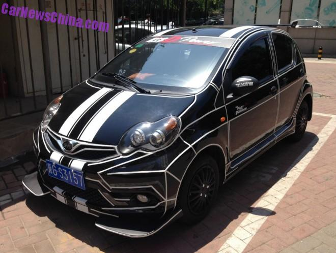 BYD F0 has a Body Kit in China