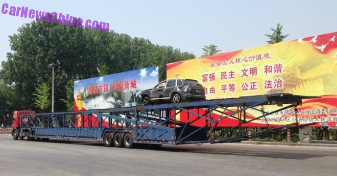 Car Transport Trucks are Big in China
