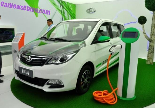 Changan Oushang MPV goes Electric in China