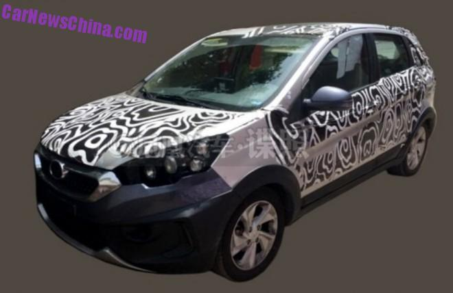 Spy Shots: new compact SUV for Changhe Auto