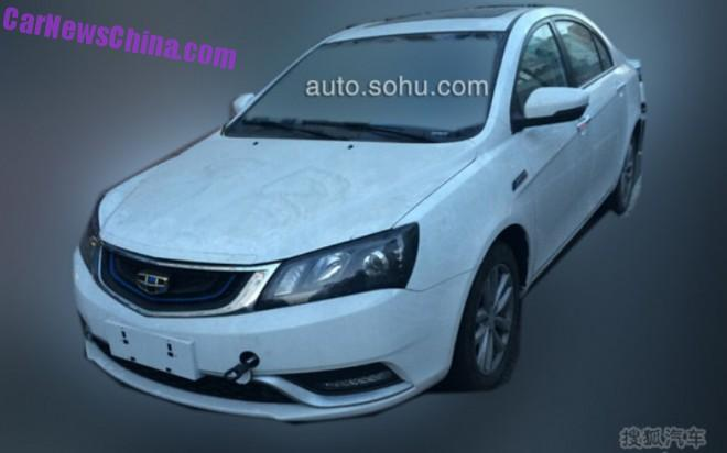 Spy Shots: Geely Emgrand EC7 Hybrid is almost Ready for China