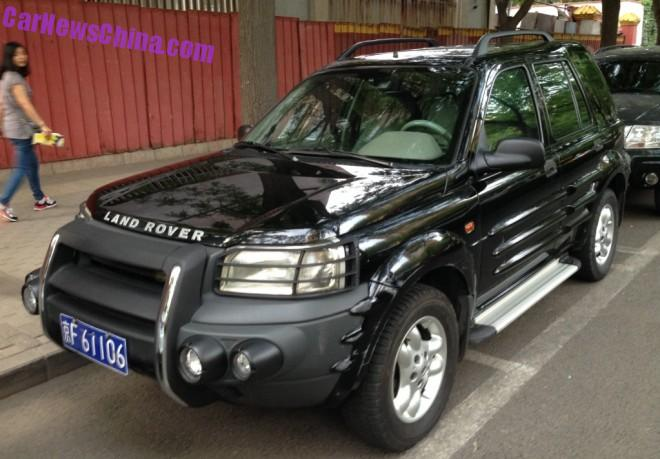 First Generation Land Rover Freelander has a Body Kit in China