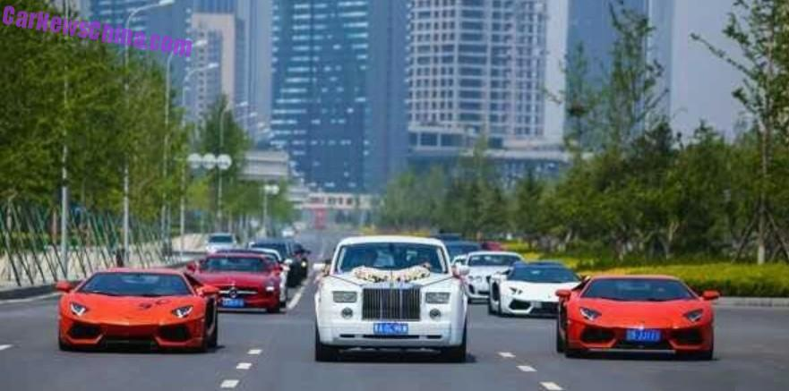 Supercar Wedding In Dalian China Carnewschina Com