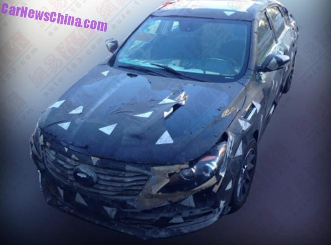 Spy Shots: Guangzhou Auto Trumpchi GA4 sedan for China