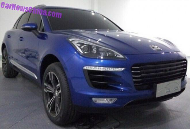 The Zotye T700 SUV from China is NOT a Porsche Macan
