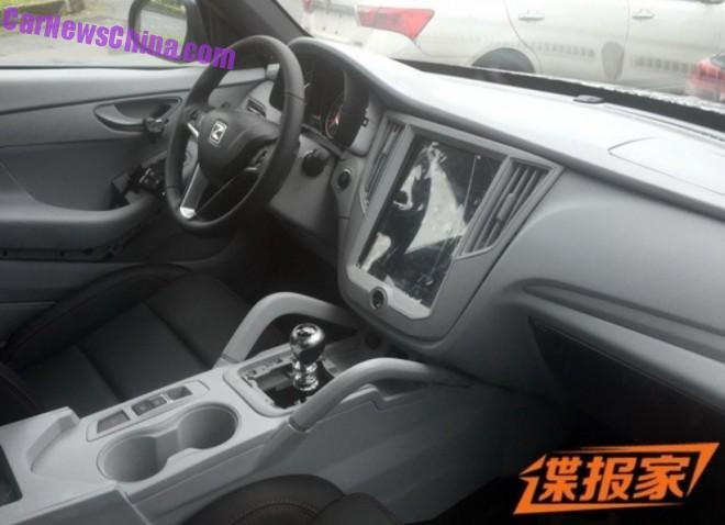 Spy Shots: new Zotye SUV from China beats Tesla for the touch screen